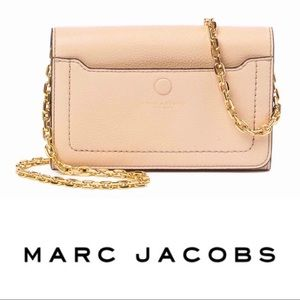 NWT Marc Jacobs Empire Leather Wallet Crossbody